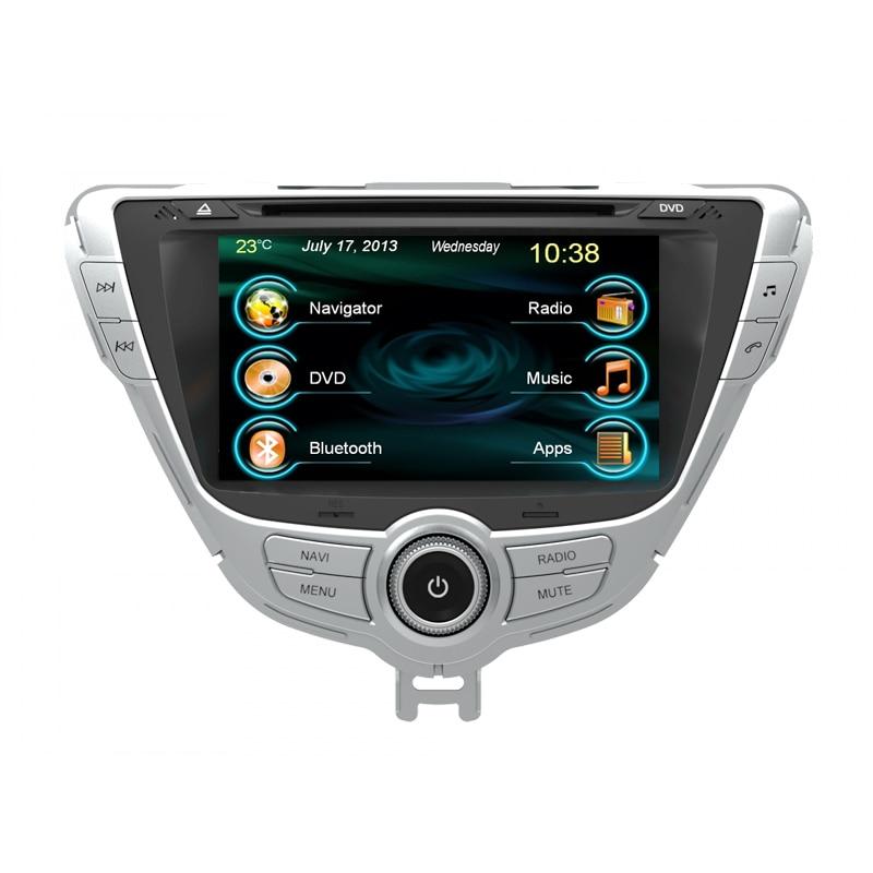 Car Dvd For Hyundai Elantra 2013 2014 2015 With Gps Stereo