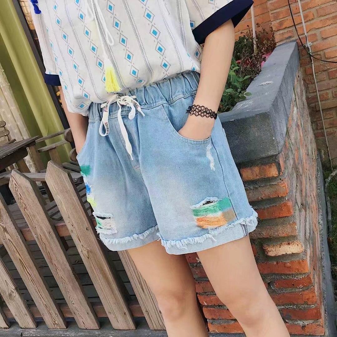 Line Denim Shorts Promotion-Shop for Promotional Line Denim Shorts ...