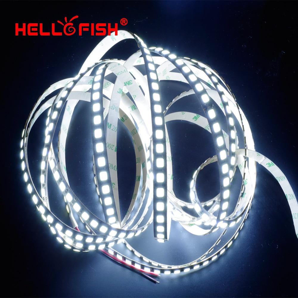 Image 4 - LED Strip Light diode LED light tape backlight 12V 5m 600 LED 5054 IP67 waterproof white warm white-in LED Strips from Lights & Lighting