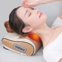 Orthopedic pillow cervical massager neck shoulder back home full body wrinkle pillow electric multi function massage pillow
