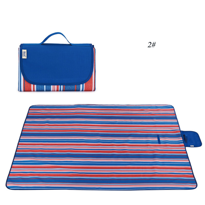 Image 5 - Waterproof Beach Blanket Outdoor Portable Picnic Mat Camping Ground Mat Mattress Outdoor Camping Picnic Mat blanket-in Camping Mat from Sports & Entertainment