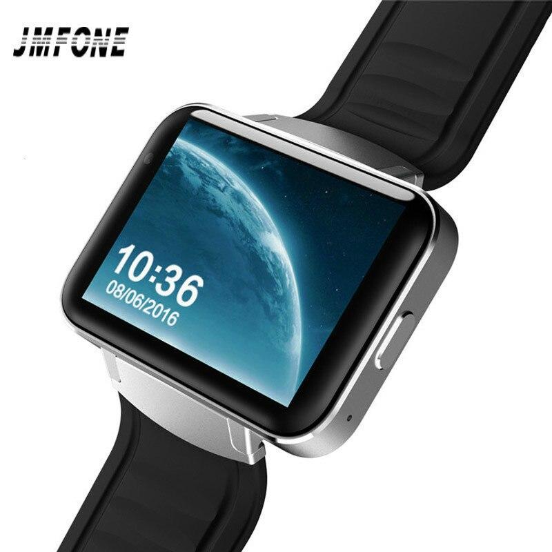 JMFONE DM98 Smart watch MTK6572 Dual core 2.2 inch HD IPS LED Screen 900mAh Battery 512MB Ram 4GB Rom Android 4.4 OS 3G GPS WIFI цена