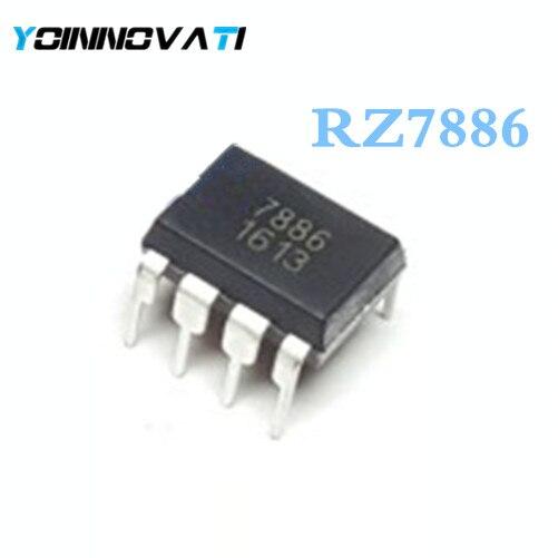 10 шт./лот RZ7886 886 DIP-8 IC лучшее качество