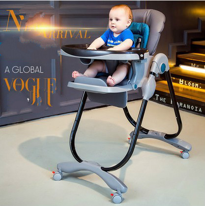 A cadeira de bebé dobrável multi-função assento portátil do bebê infantil crianças ajustar mesa para o jantar