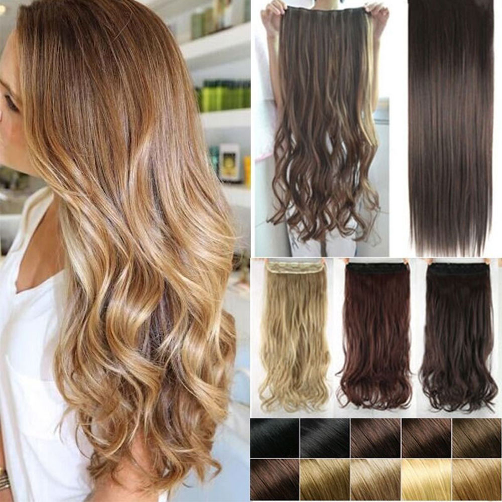 Long 30 Inch Clip In Hair Extensions Remy Hair Review
