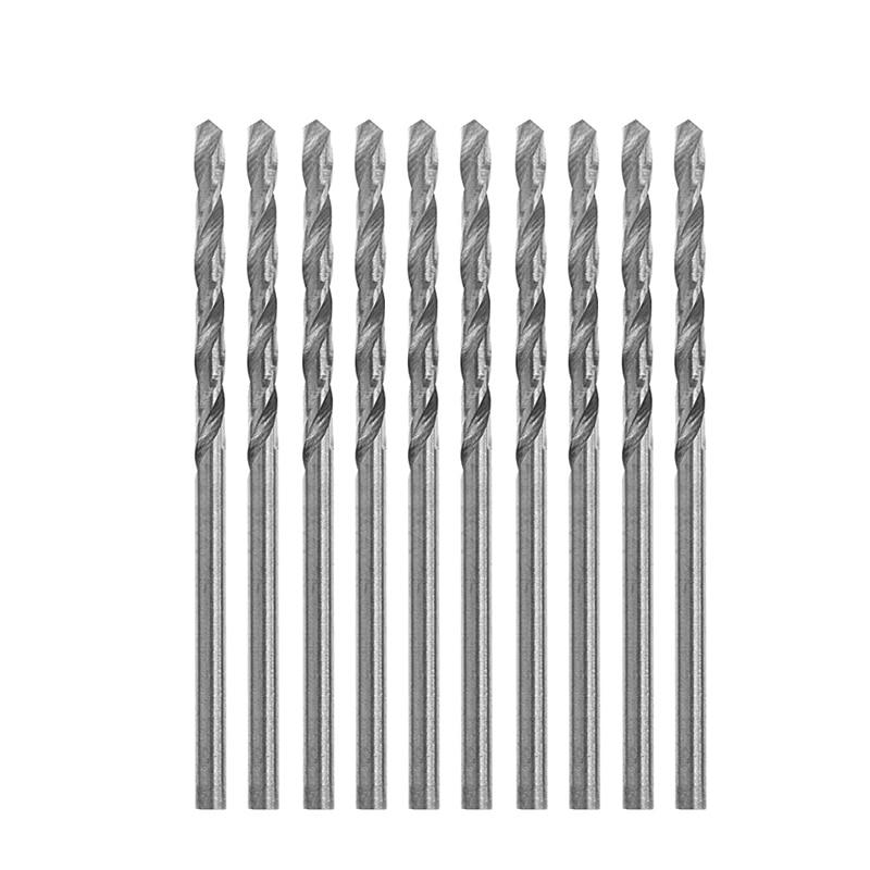 10 PCS Multifunction Tiny Micro HSS 2.5mm Straight Shank Twist Drilling Bit