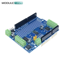 TB6612 Mosfet Stepper Motor Module PCA9685 Servo Driver Shield Board For Arduino Robot PWM Leonardo Replace L293D Speed Control(China)