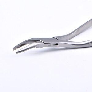 Image 5 - Pince dextraction de dent de Fragment de racine dentaire pince à dents Instrument dentaire pince à dents mandibulaire maxillaire incurvée outil dentaire