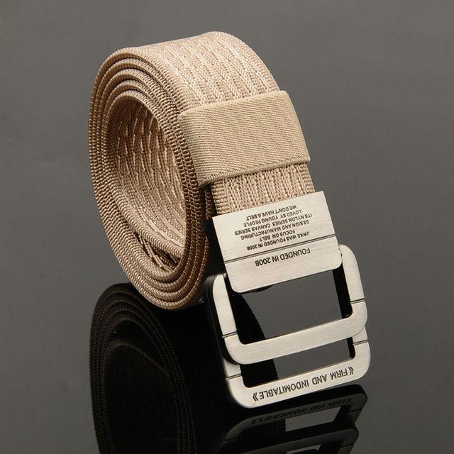 Cinto de Nylon Cinto Tático Do Exército Masculino Calça Jeans Cintura Dos Homens De Luxo Cintos de Grife Homens de Alta Qualidade Cinta Ceinture Femme