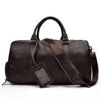 Новый 40L Для женщин Для мужчин из натуральной кожи спортивная сумка мешки Duffle Водонепроницаемый Сумочка Открытый Фитнес сумки на плечо sac de