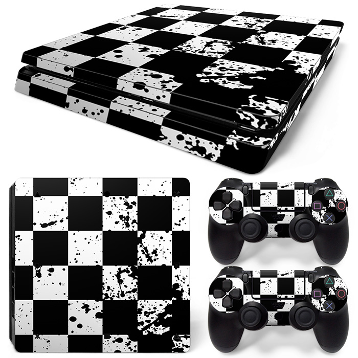 Free Drop Shipping Vinyl Cover Decal skin for PS4 Slim Skin Sticker