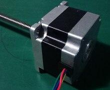 nema23 1Nm 142 ozin 2phase Linear screw stepper motor 200mm length 8mm screw pitch for CNC 3D printer