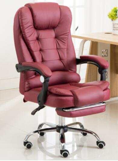 Luxe Leren Bureaustoel.Louis Luxe Hoge Rug Executive Faux Lederen Bureaustoel Draaibare
