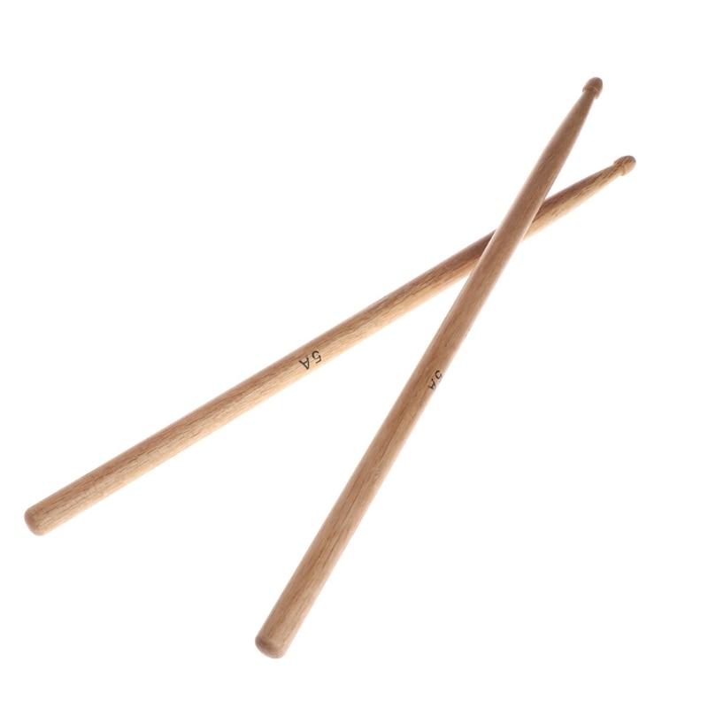 1Pair 5A Oak/ 7A Maple Wood Durable Drumstick Kid Jazz Drum Sticks Electronic Drums Stick