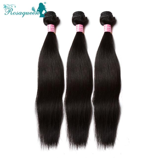 3Pcs/Bundles Lot Brazilian Virgin Hair Straight 6A Brazilian Hair Weave Bundles Straight Human Hair Weave Human Hair Extensions