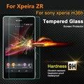 Bolsa de pantalla de cristal templado protector de cine para sony xperia zr m36h sp m35h s SL LT26i LT25i V L S36h xperia TX LT29i C3 C4 C5 M2 M4 M5