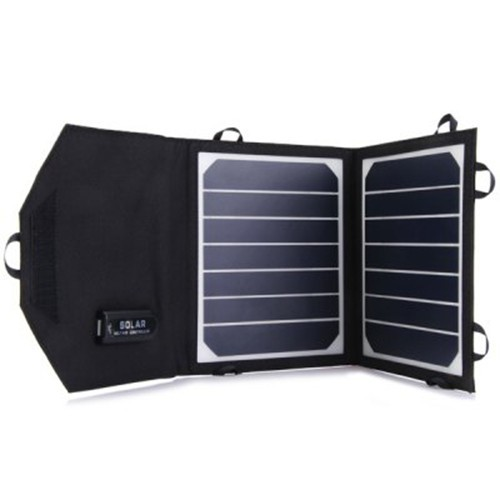 Portable 7W Foldable Solar Panel Charger For iphone Mobile Power Bank Solar Battery Charger Sunpower High