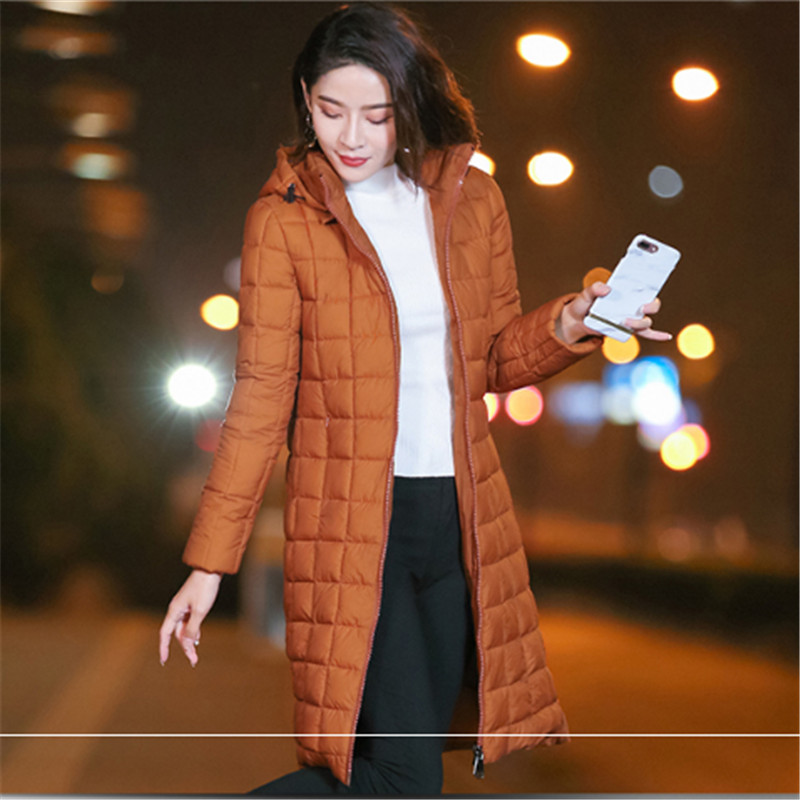 Winter   Parka   Women Down Cotton-wadded Jacket Female 2018 New Hooded Warm Padded Jacket For Office Lady Outerwear High Quality