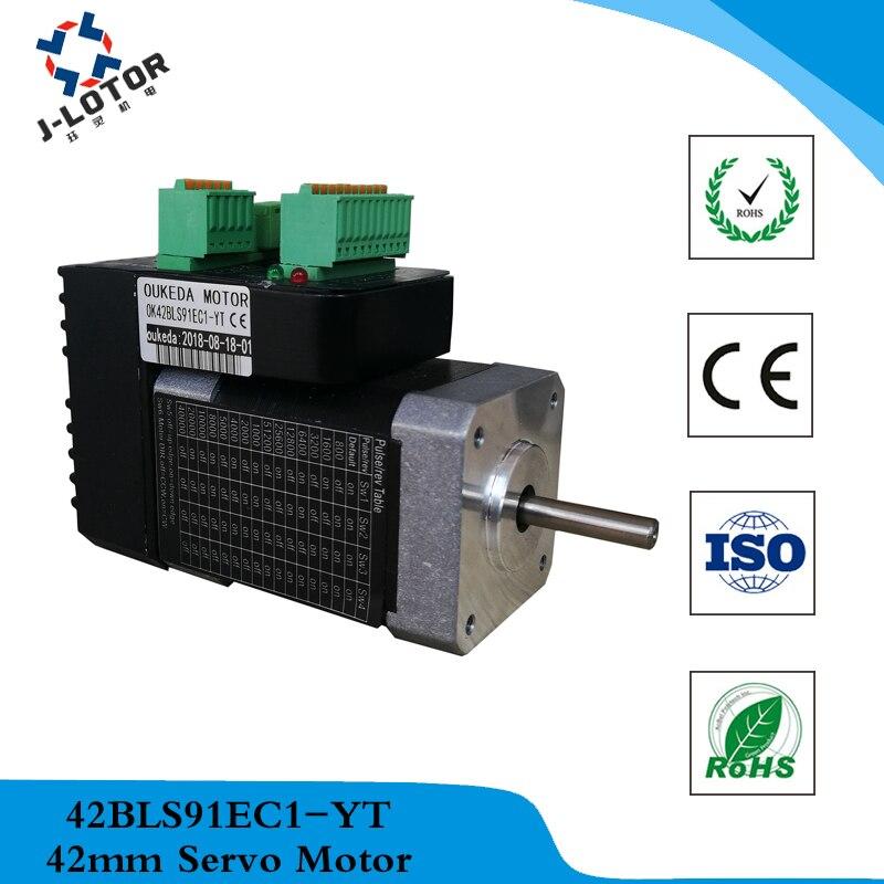 42 unify AC servo motor Low power 52W 24V 4000RPM Speed 3.4A 0.125Nm Servo Motor 42 unify AC servo motor Low power 52W 24V 4000RPM Speed 3.4A 0.125Nm Servo Motor