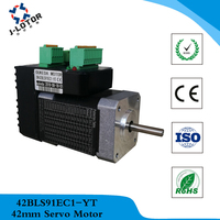 42 unify AC servo motor Low power 52W 24V 4000RPM Speed 3.4A 0.125Nm Servo Motor