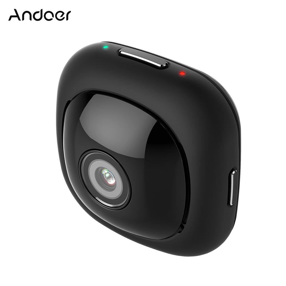 Prix pour Andoer Wifi Action Camera 1080 P Full HD Sport Caméra 120 Degrés Grand Angle Lentille avec App Télécommande Auto Selfie Caméra Vidéo