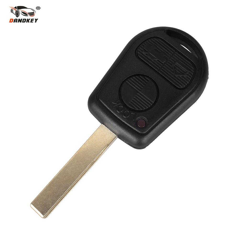 DANDKEY Remote Key Shell For BMW M3 Z4 X5 E46 325i 325ci 325xi 330i 330ci 330xi 3 Buttons Keyless Entry Fob Case new power steering pump for bmw 325ci 325xi 330ci 330i 330xi 2 5l 3 0l dohc