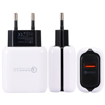 For iPhone X 7 iPad Fast Wall Charger 3.0 Travel Portable Wall Charging Adapter For iOS/Android Phone Chargers for redmi note 7
