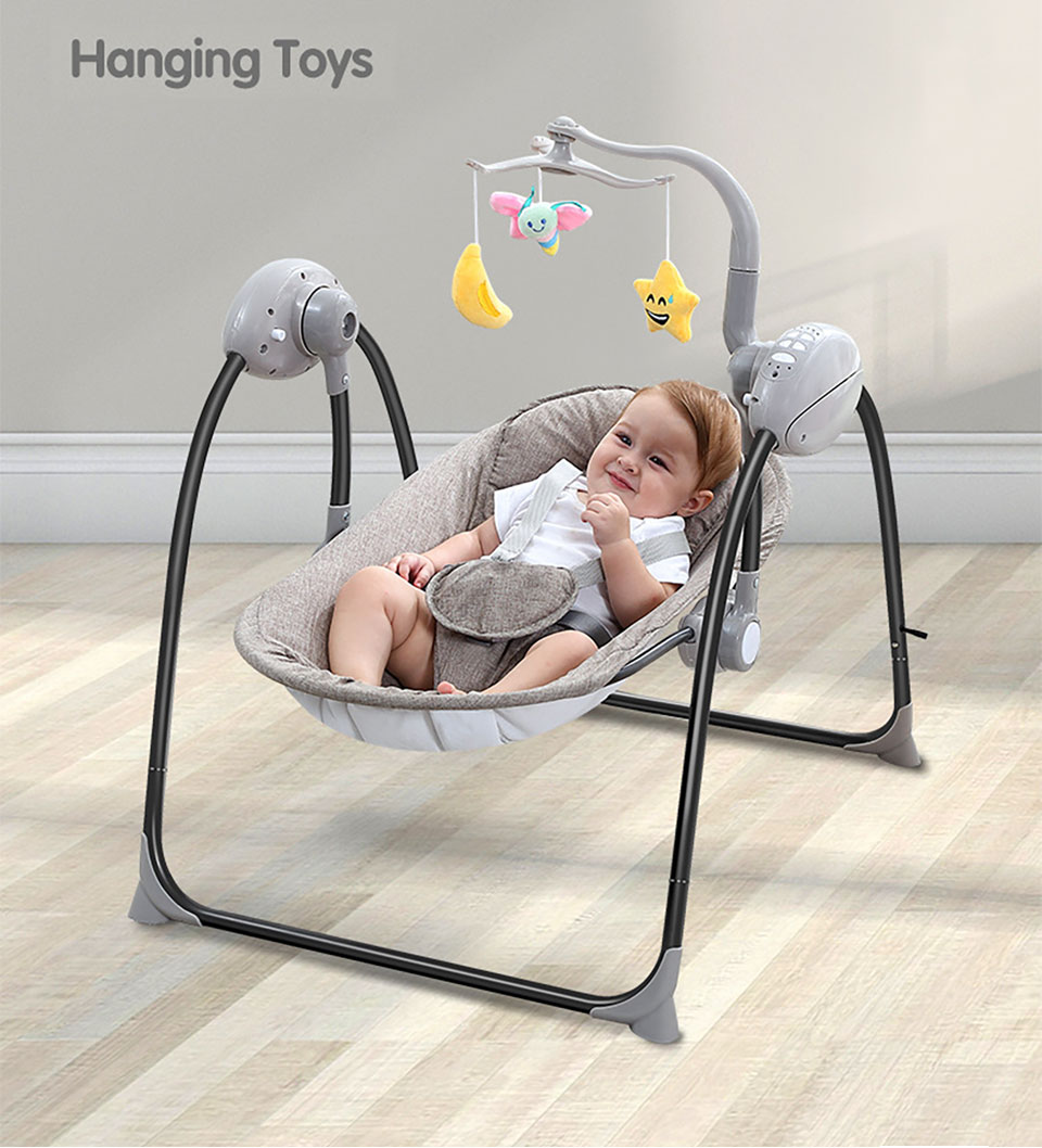 Groovy Us 98 39 40 Off Imbaby Baby Swing Baby Rocking Chair Electric Baby Cradle With Remote Control Cradle Rocking Chair For Newborns Swing Chair In Squirreltailoven Fun Painted Chair Ideas Images Squirreltailovenorg