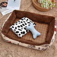 Pet Cool Pad Cooling For Hot Temperature Summer Couches Comfort Soft Fabric Dog Beds Mats