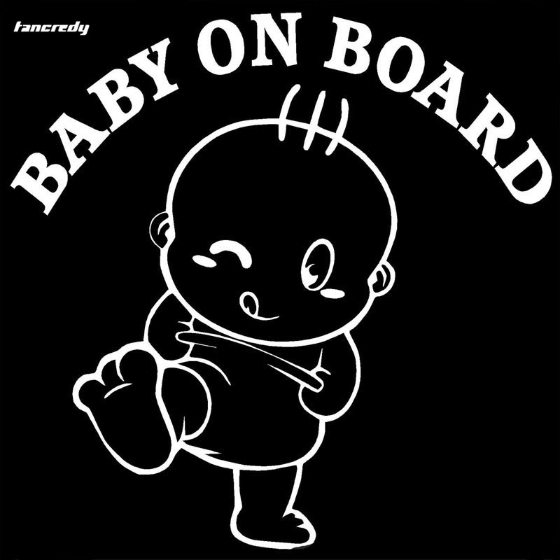 3d Baby On Board Car Stickerscar Decals And Sticker 14 614 4cm Car
