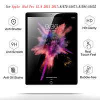 Protecteur d'écran HD pour iPad Pro 12.9 2018 tablette en verre trempé film de protection d'écran anti-rayures pour iPad Pro 12.9 pouces 2017