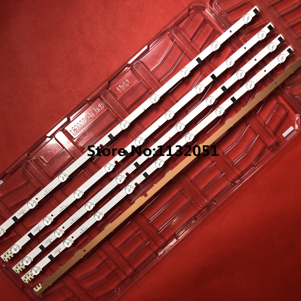 650mm LED Backlight Lamp Strip 9 Leds For SamSung 32''TV BN96-25300A UA32F4088 2013SVS32H BN96-25299A D2GE-320SC0-R3 HF320CSA-B1
