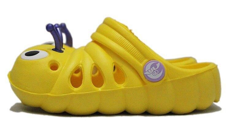 Летние от 1 до 5 лет детские сандалии мультфильм для мальчиков и девочек садовая обувь мягкая подошва детские тапочки детская обувь