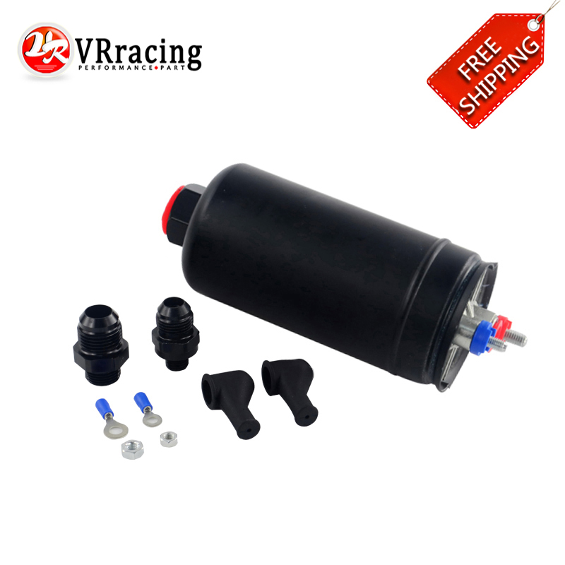 VR RACING - FREE SHIPPING External EFI 380LH 1000HP TOP QUALITY Fuel Pump E85 Compatible 044 style New VR-FPB003 fuelab 41402 4 prodigy high pressure efi purple in line fuel pump