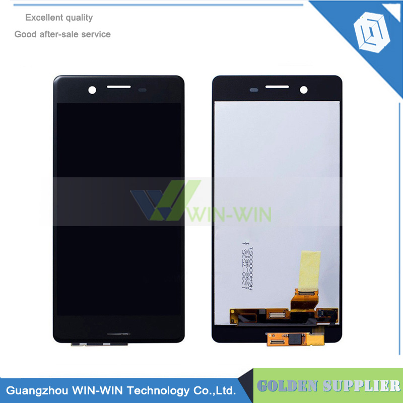 Black/White 5.0''New Original LCD Display + Touch Screen Glass Digitizer Assembly Replacement For Sony Xperia X F5121 F5122 replacement original touch screen lcd display assembly framefor huawei ascend p7 freeshipping