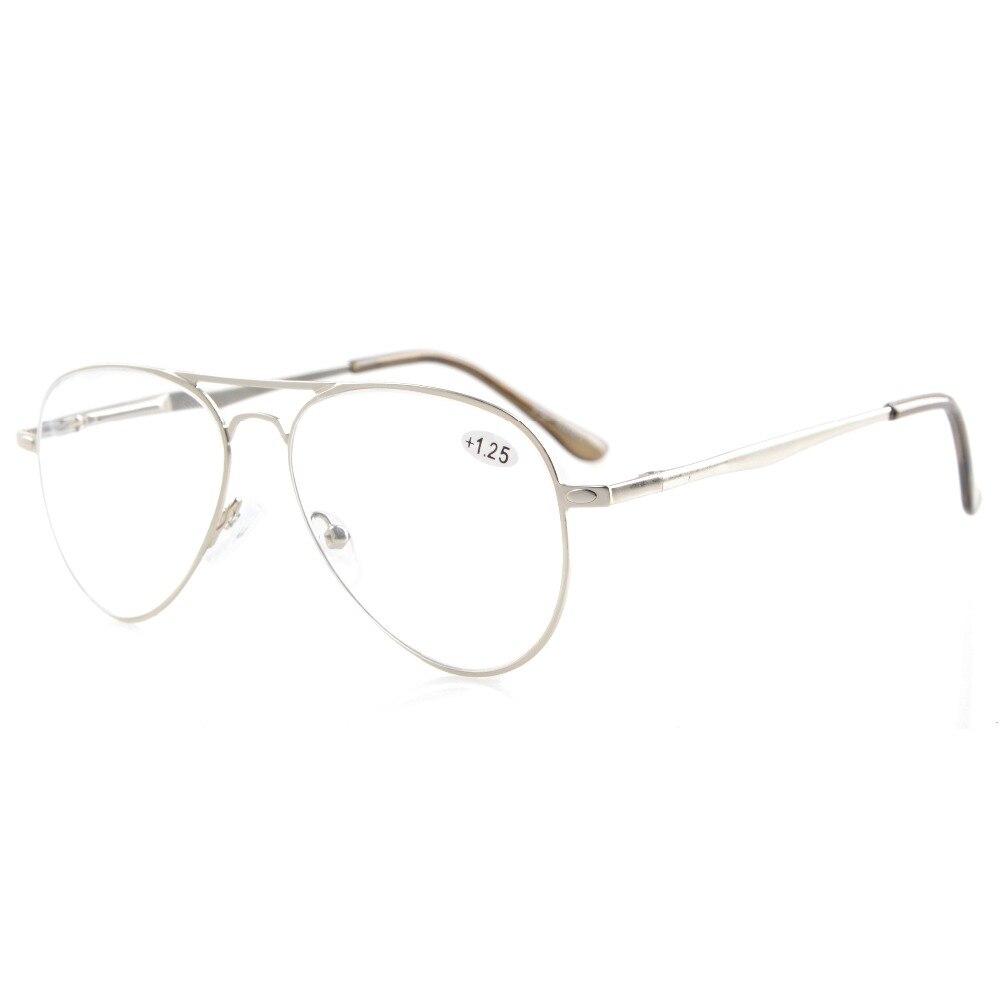 830a311585 R15036 Eyekepper los lectores calidad primavera templos estilo piloto gafas  de lectura y de lectura gafas de sol de los lectores + 0,50 + 4,00 en De  los ...