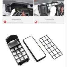 Polo asambleas 2 unids anti-pm2.5 del filtro de aire del coche del filtro de aire limpiador de exteriores especiales de estilo case cubierta de la etiqueta engomada para volkswagen