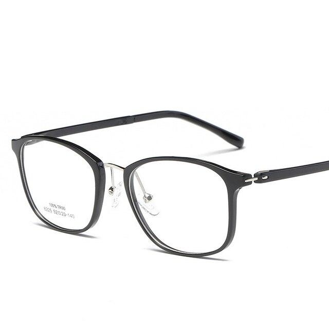 bc51cc3f81c6 Eyeglass Frames Unisex Famous Design Full Frame Women Optical Myopia Eyewear  Men Computer Prescription Frame Male