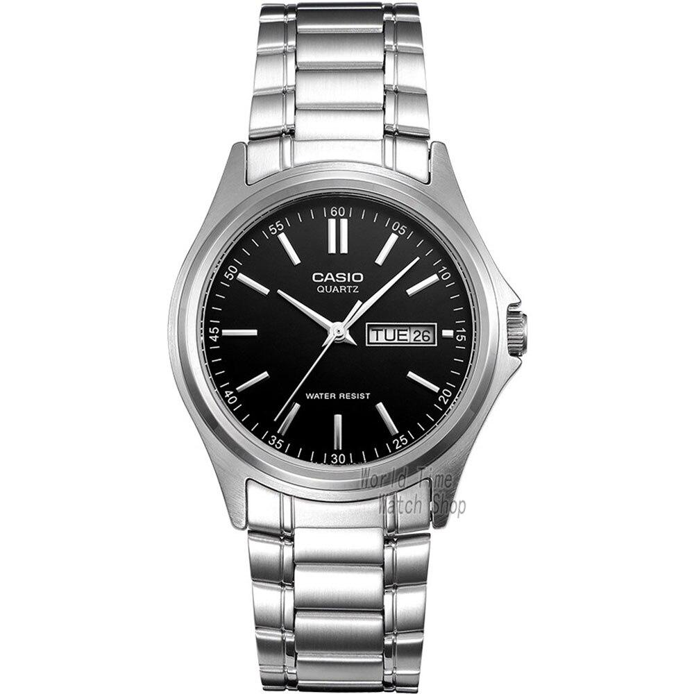 Casio watch Business font b quartz b font pointer watch font b men s b font