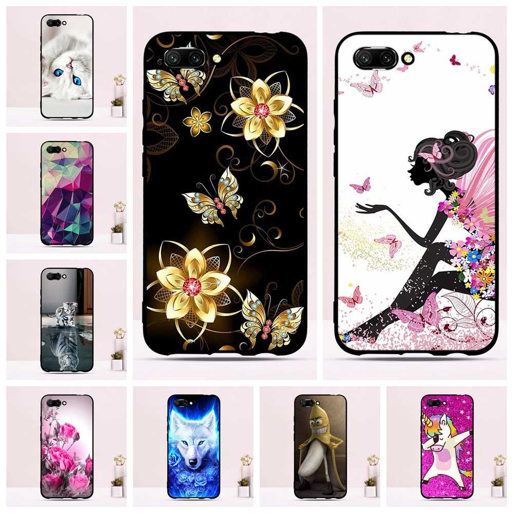 """Fundas For Huawei Honor 10 Cases Silicone TPU Honor10 5.84"""" Soft Back Cover Clear bumper for Huawei Honor 10 Phone Cases Cover"""