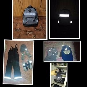 Image 3 - Cinta reflectiva de transferencia de calor para planchar en bolsas para ropa y zapatos, color plateado brillante, 5CM/2,50 CM