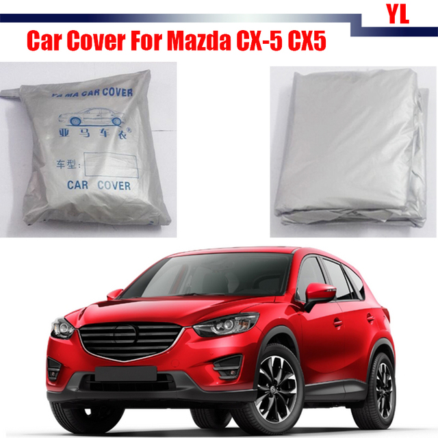 Car Cover Outdoor Sun Snow Rain Resistant Protection Cover UV Anti Dustproof For Mazda CX-5 CX5