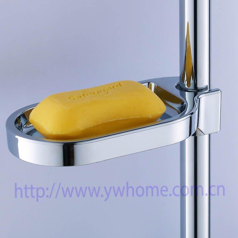 Dish Soap Pallet Holder Bathroom Accessories Practical Plastic Shower Rail Soap