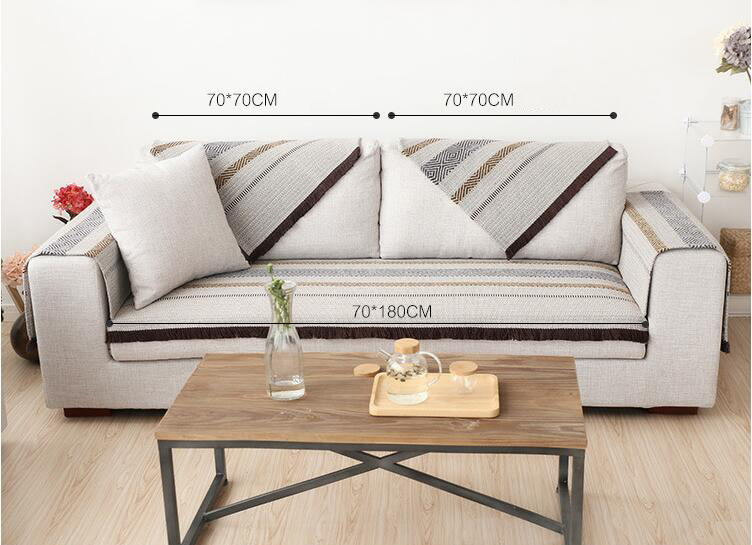 70cm Cotton Sofa Towel Sectinal Sofa Cover Slip Resistant Single Seat  Double Seat Three Seat Sofa Cover Towel Home Textile In Sofa Cover From  Home U0026 Garden ...