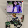 HDMI + DVI + VGA + аудио ЖК-плата контроллера + 8 дюймов EJ080NA-05A/AT080TN52 800*600 ЖК-панель