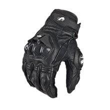 Venta caliente fresco de la motocicleta de paseo en bicicleta guantes de moto de carreras guantes de caballero de cuero de conducción de bicicletas ciclismo motociclismo
