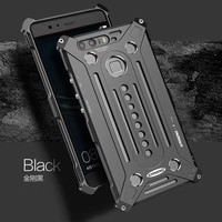 Full Protection Armor King Iron Man Steel Metal Shockproof Case For Huawei Ascend P9 P9 Plus