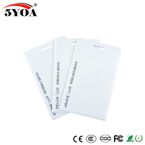Image 1 - 5YOA 50 stücke 5YOA 1,8mm EM4100 125khz Keyfob RFID Tag Tags Access Control Card Key Fob Token Ring proximity Chip