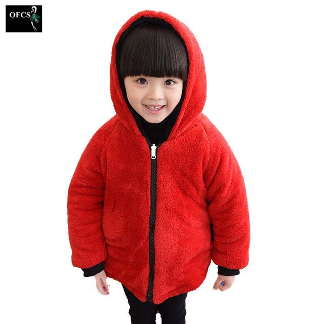 d360d04e4b149 New Children s Wear Cotton-Padded Jacket Girls Children Winter Long  Children s Clothing Clothes Baby To Add More Wool Coat
