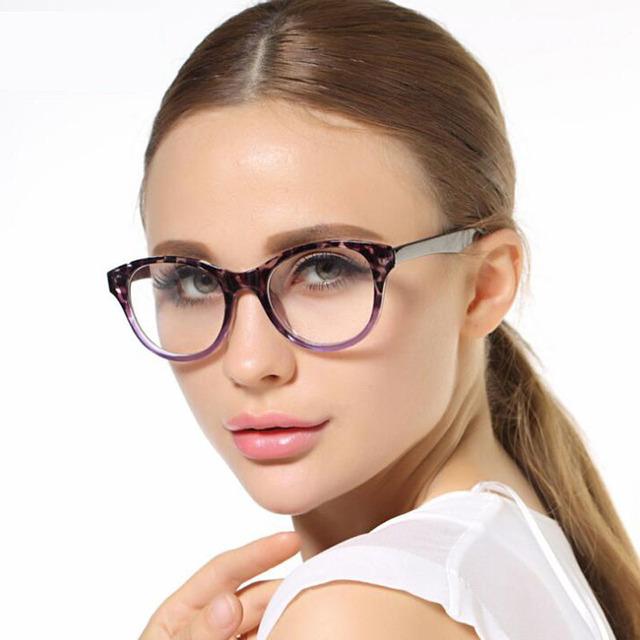 Новые Марка Женщины Оптические Frame Очки Cat Eye Очки Анти-излучения Борьбы С усталостью Очки Óculos